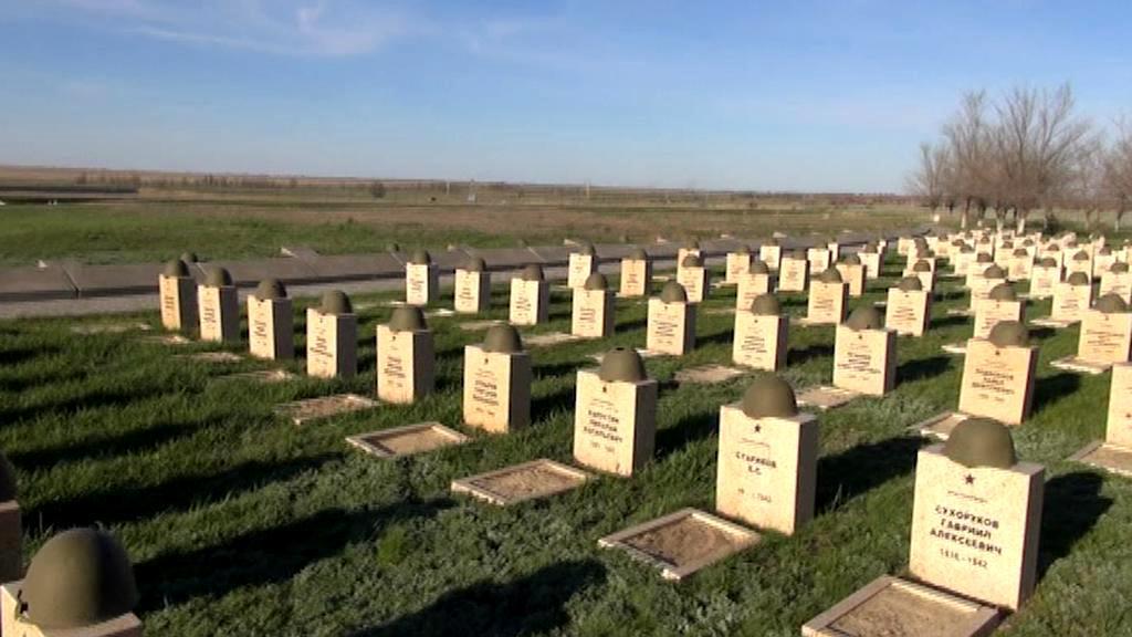 Hroby sovětských vojáků