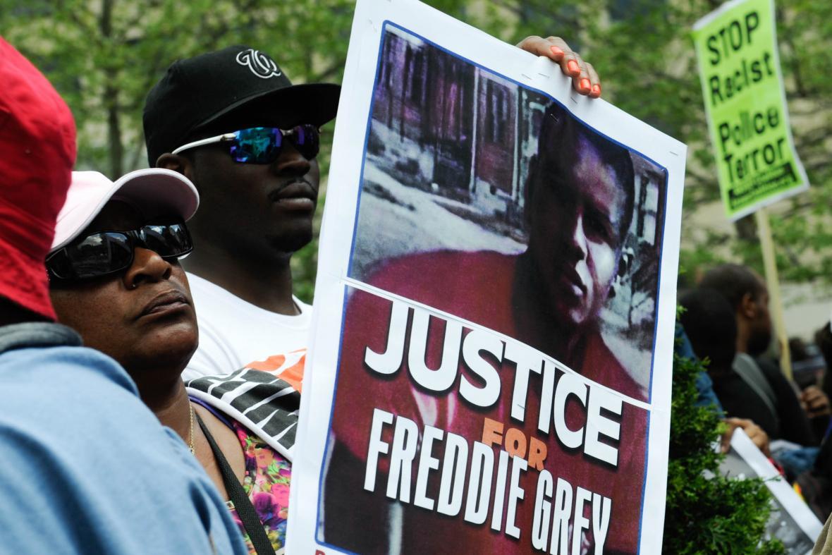 Manifestace v Baltimoru