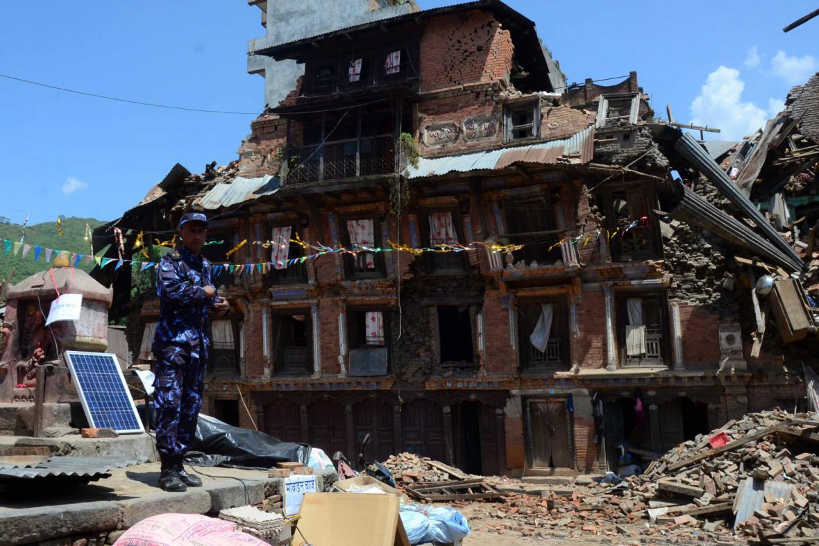 Následky zemětřesení v Nepálu