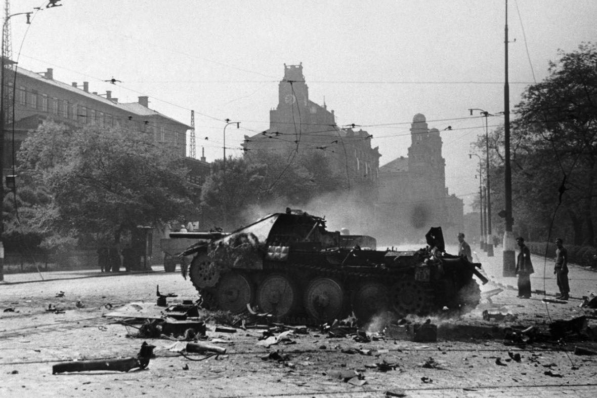 Květnové povstání v Praze