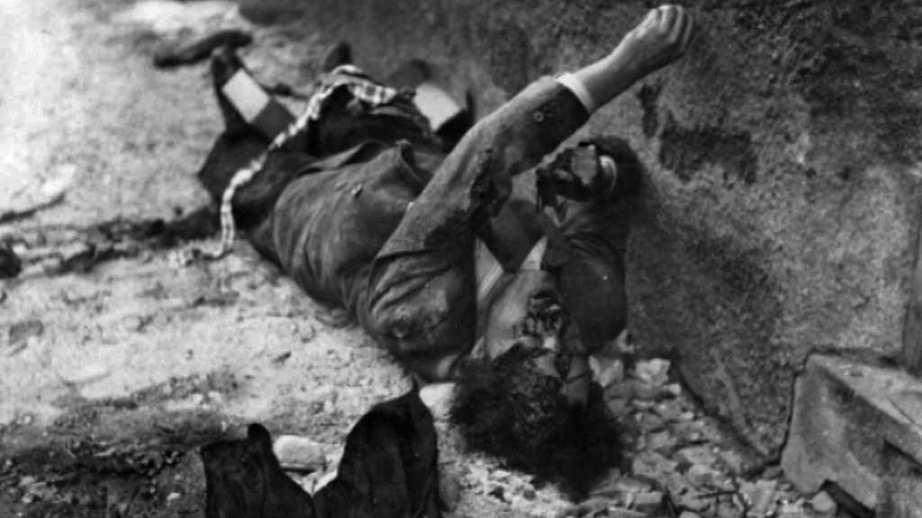 Oběť pražského povstání v květnu 1945