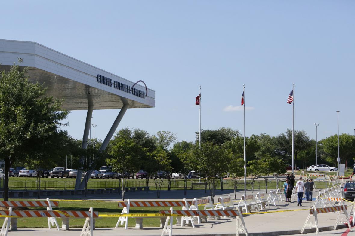 Zmařený útok v Texasu