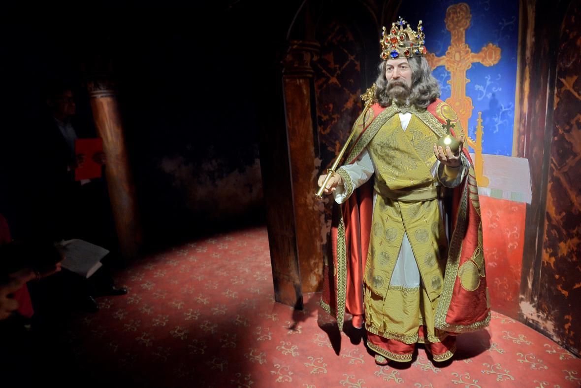 Figurína Karla IV.