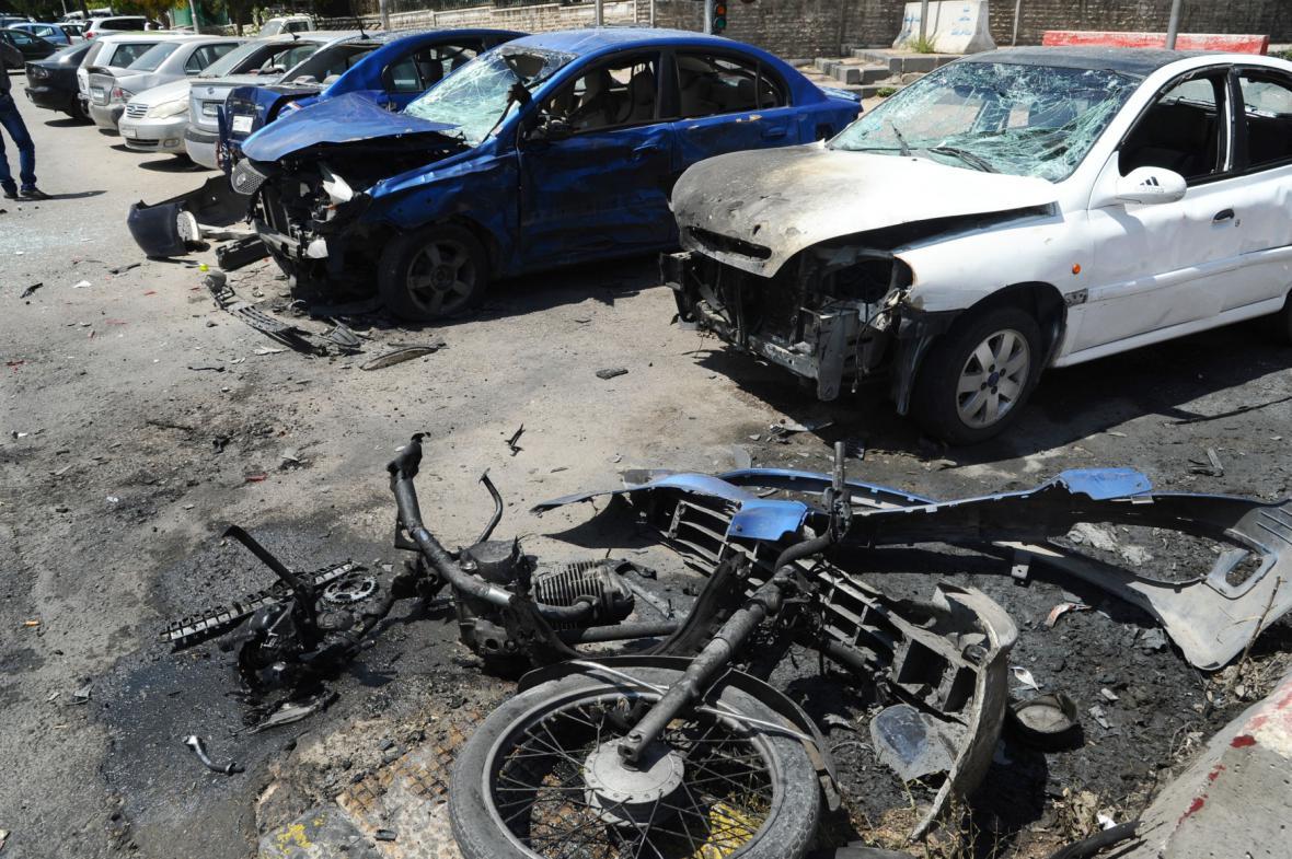 Útoky v Damašku