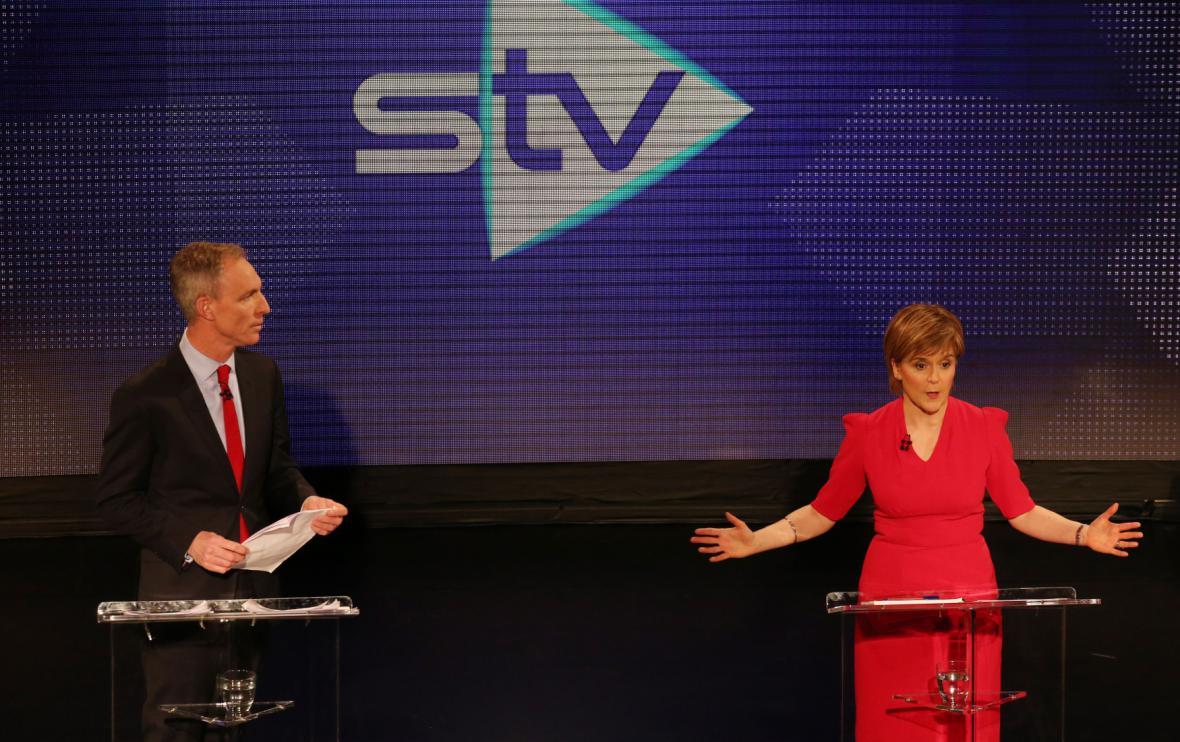 Debata zástupců skotských stran