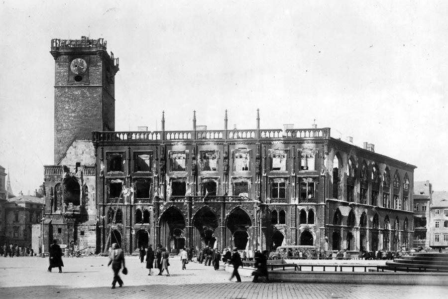 Výsledek obrázku pro Pražské povstání