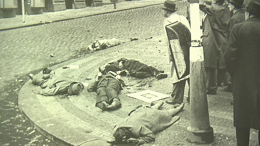 Zajatí Němci zastřelení německou jednotkou