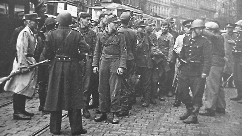 Vyjednávání o rozhlase, odzbrojení Němci