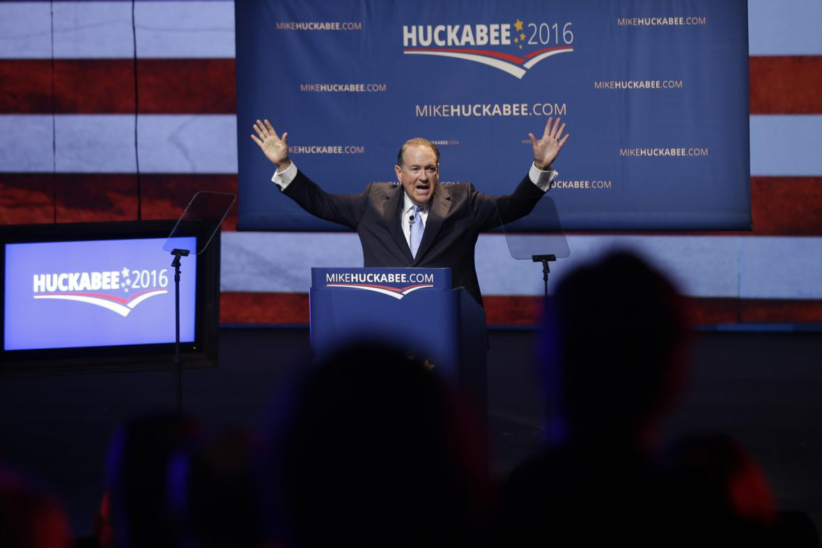 Republikán Mike Huckabee