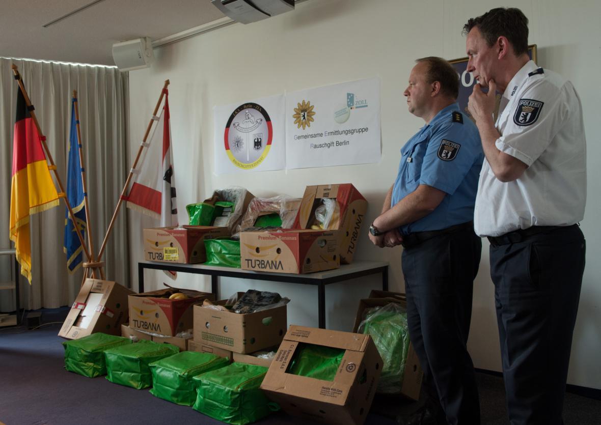 Policisté v Německu hlásí rekordní i kuriózní nález drog