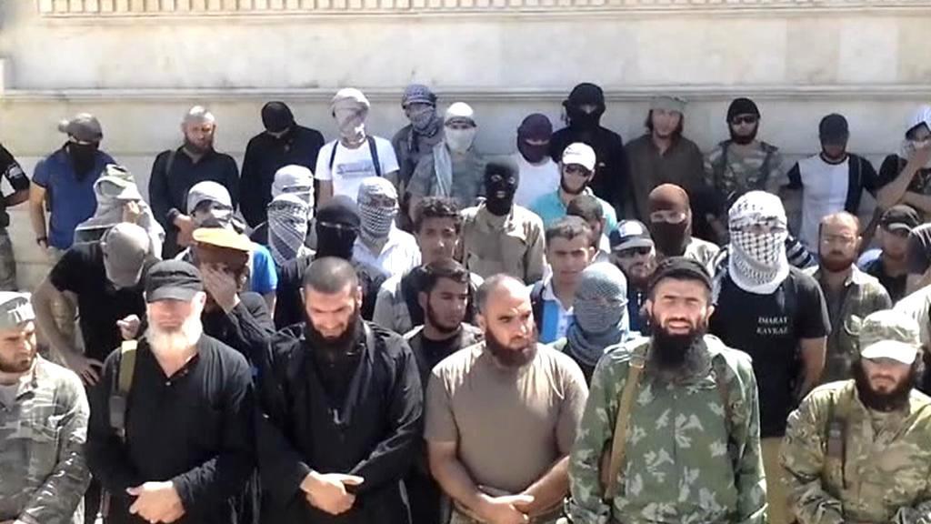 Dobrovolníci ze zahraničí v řadách islamistů