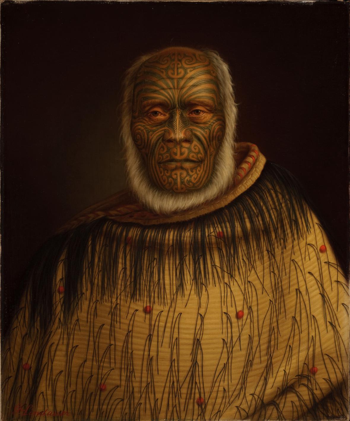 Gottfried Lindauer / Ihaka Whanga