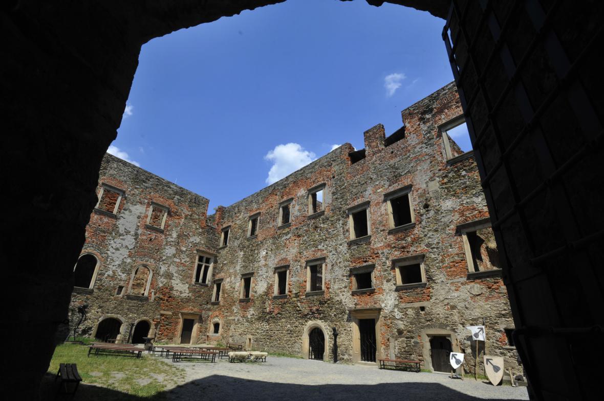 Renesanční palác Hradu Helfštýn