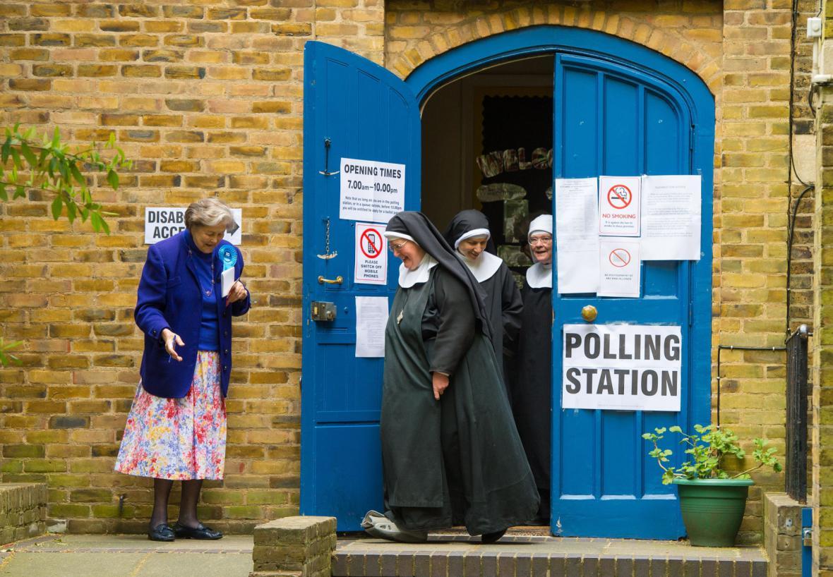 Volby ve Velké Británii