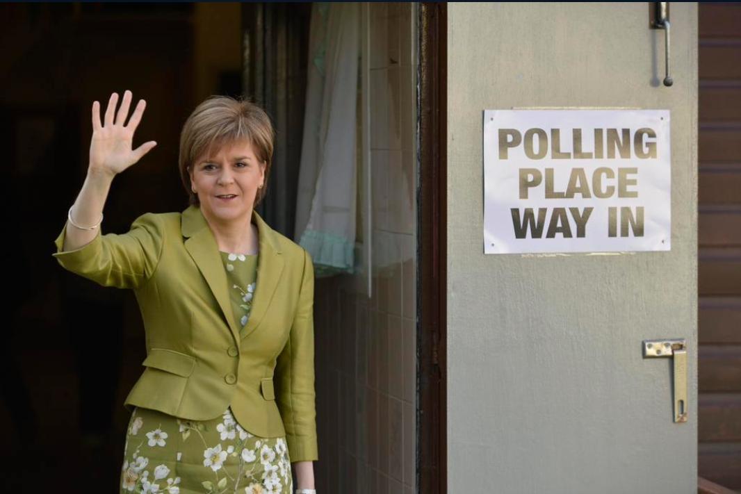 Nicola Sturgeon po odvolení