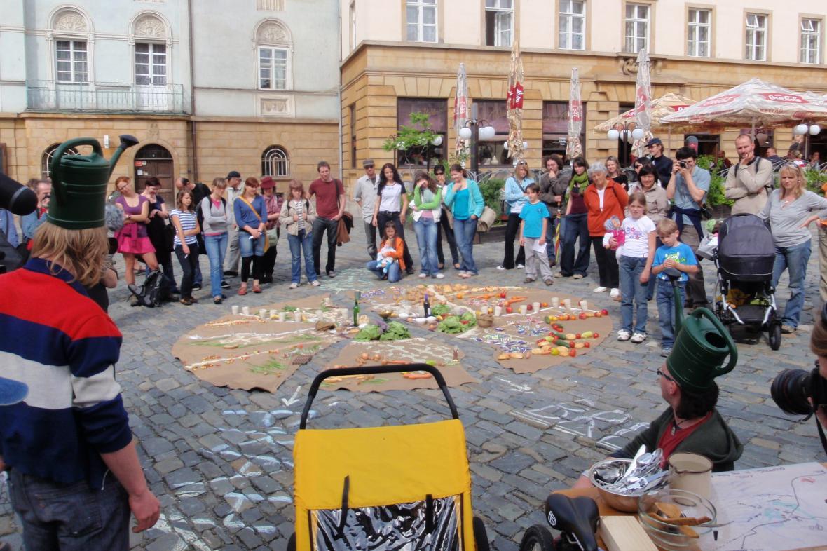 Městská hra na Divadelní Floře v roce 2009