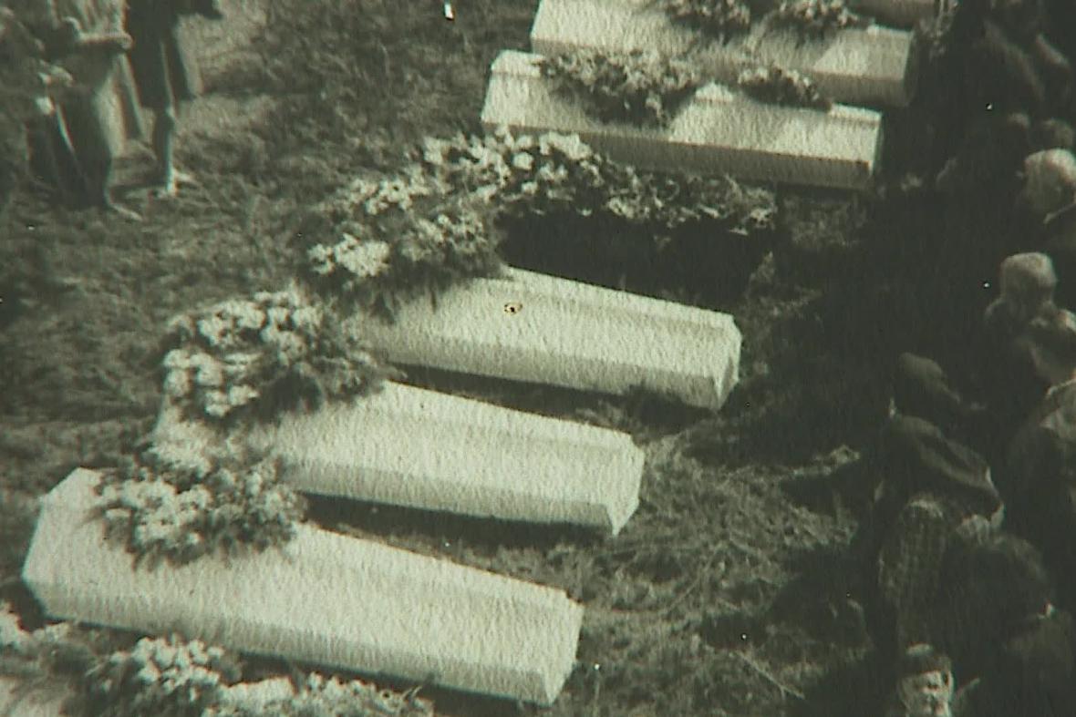 Pohřeb dalešických obětí
