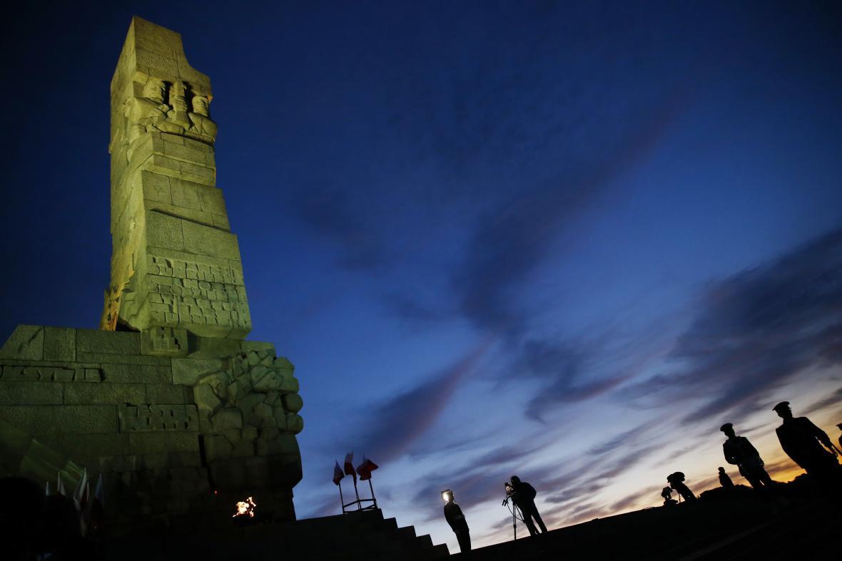 Pomník polských obránců v Gdaňsku