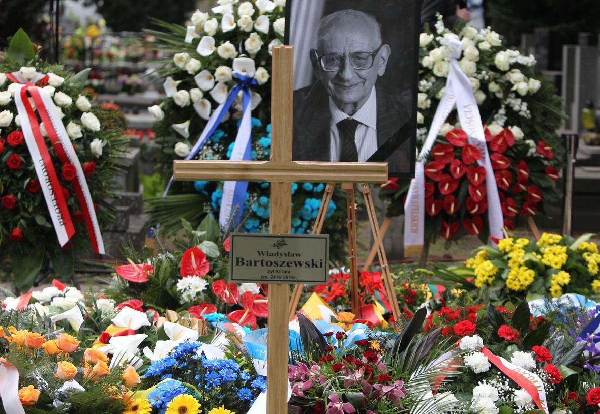 Pohřeb Władysława Bartoszewského