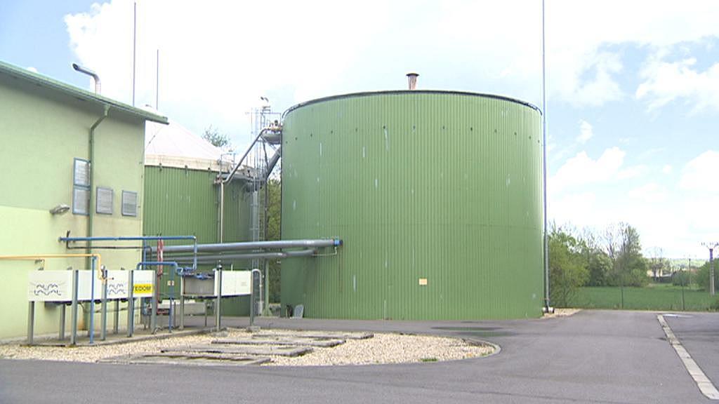 Bioplynová stanice ve Vysokém Mýtě
