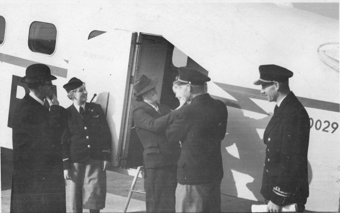 M. Stará v roce 1938
