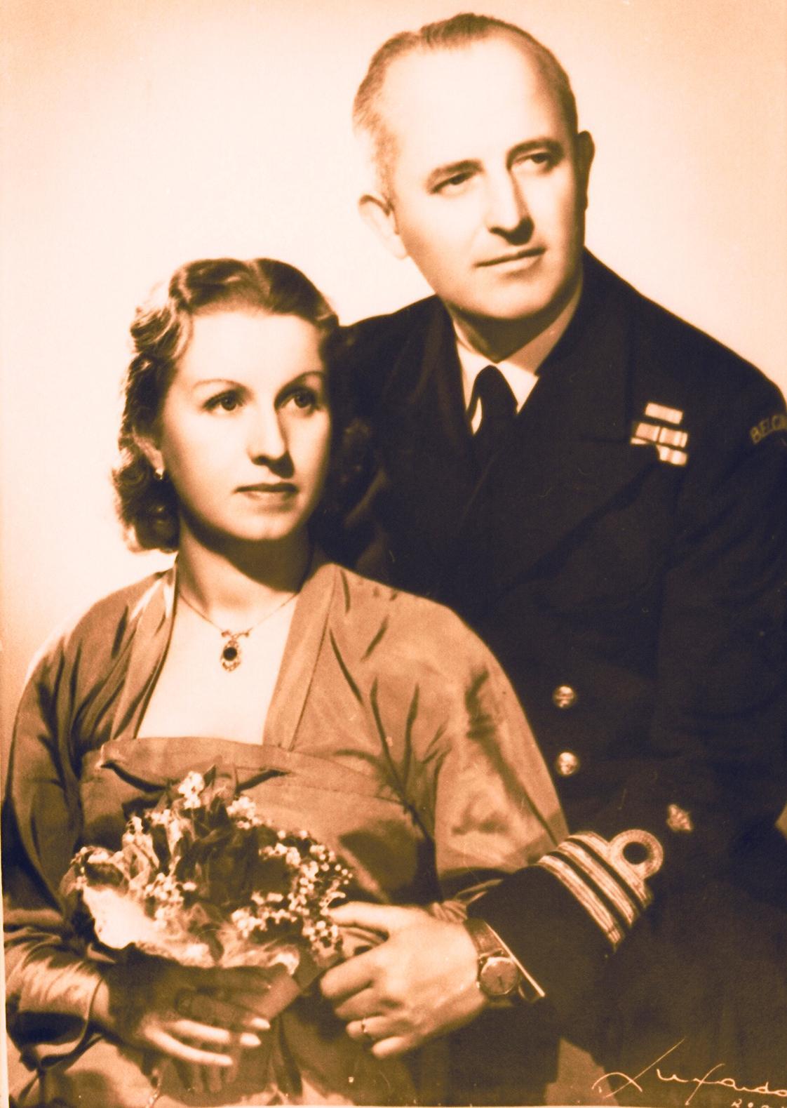 M. Stará a G. Stainier - svatební fotografie