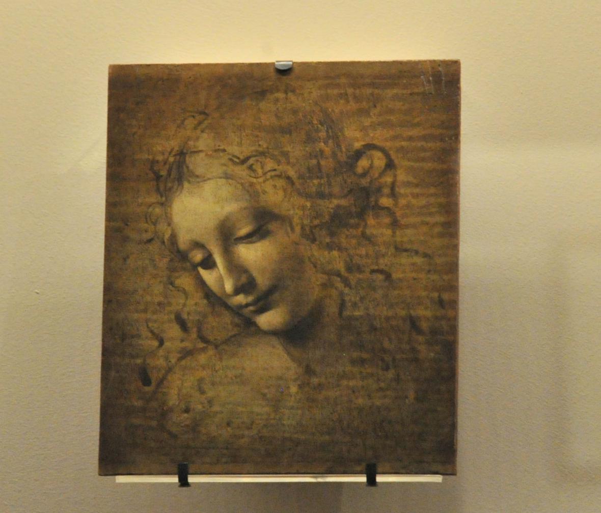Výstava Leonarda da Vinciho v královském paláci v Miláně