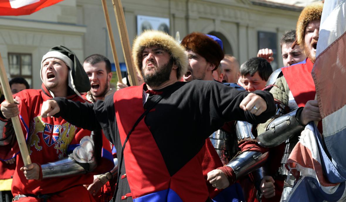 Turnaj Bitva národů odstartoval na Hradčanech