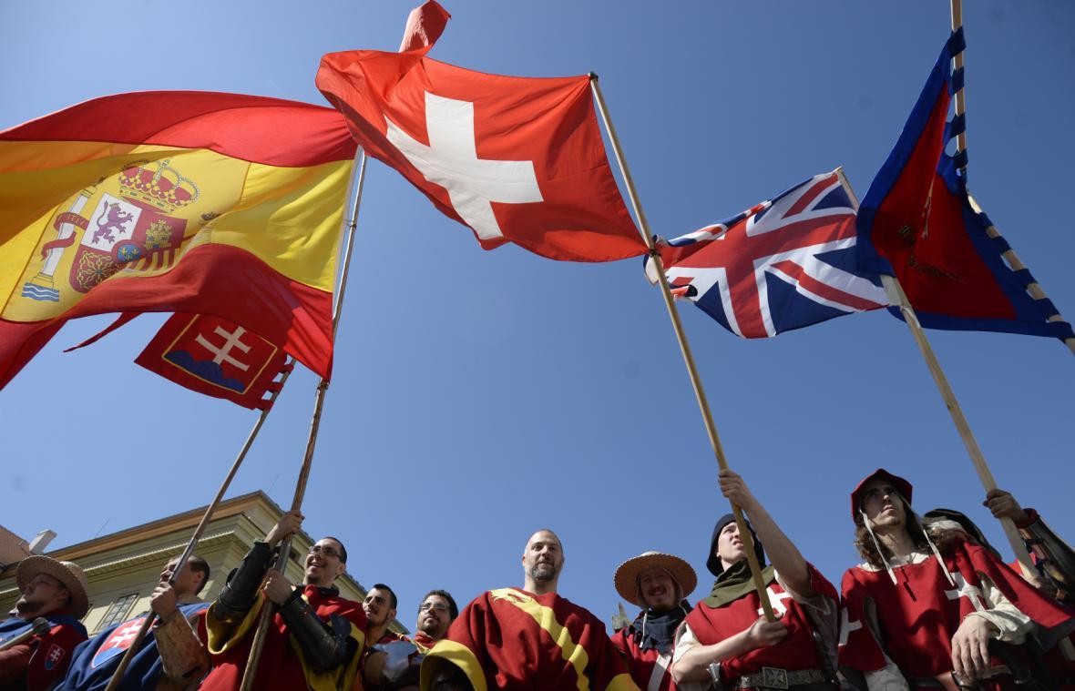 Zahájení Bitvy národů na Hradčanech