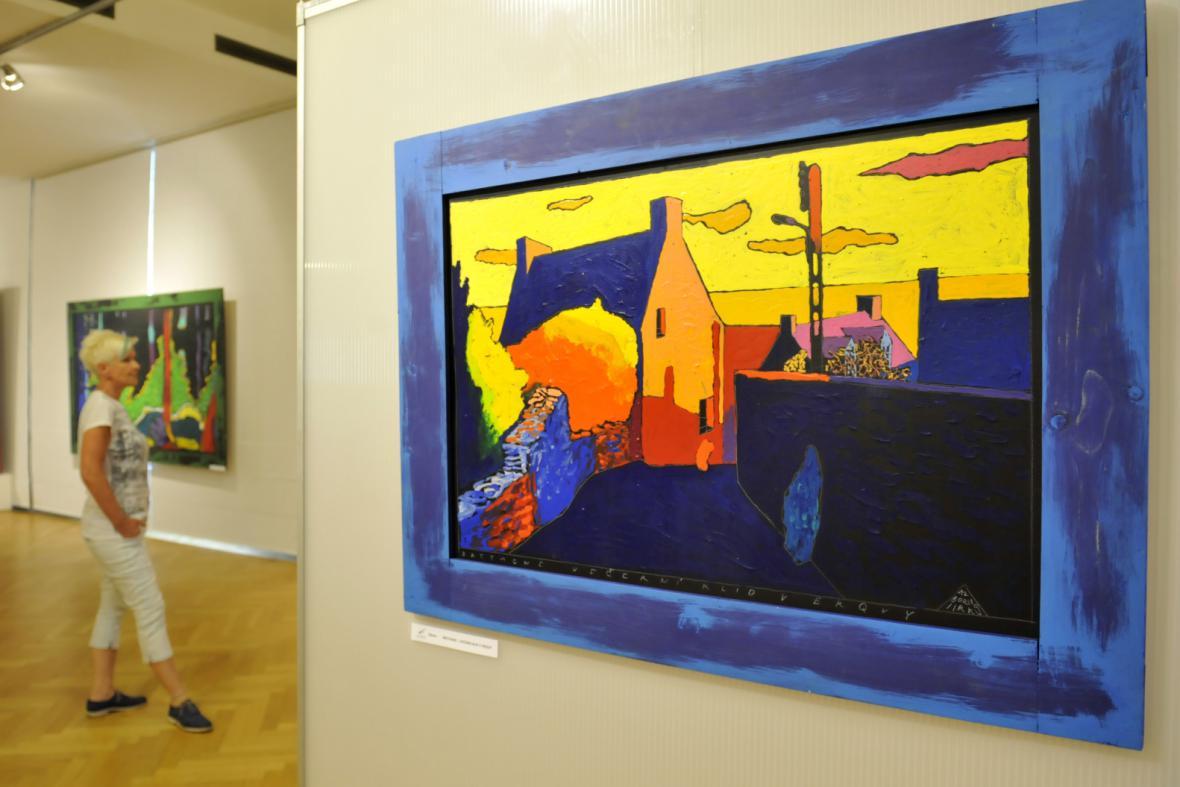 Zcestná výstava Borise Jirků ve Zlíně