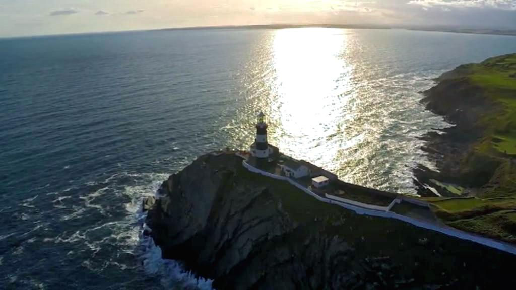 Old Head of Kinsale - místo potopení Lusitanie