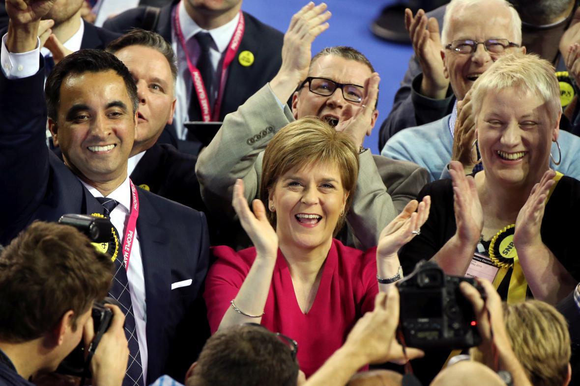 Předsedkyně SNP Nicola Sturgeonová