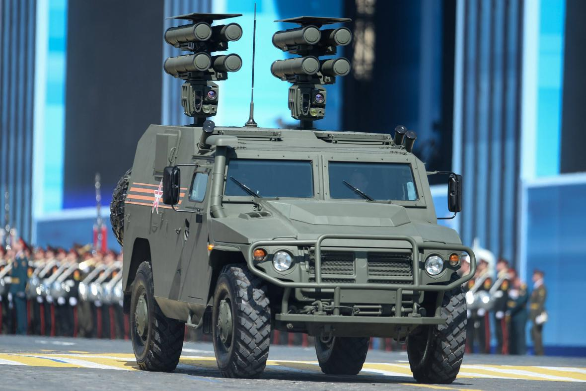 Vozidlo s protitankovým systémem Kornet-D1