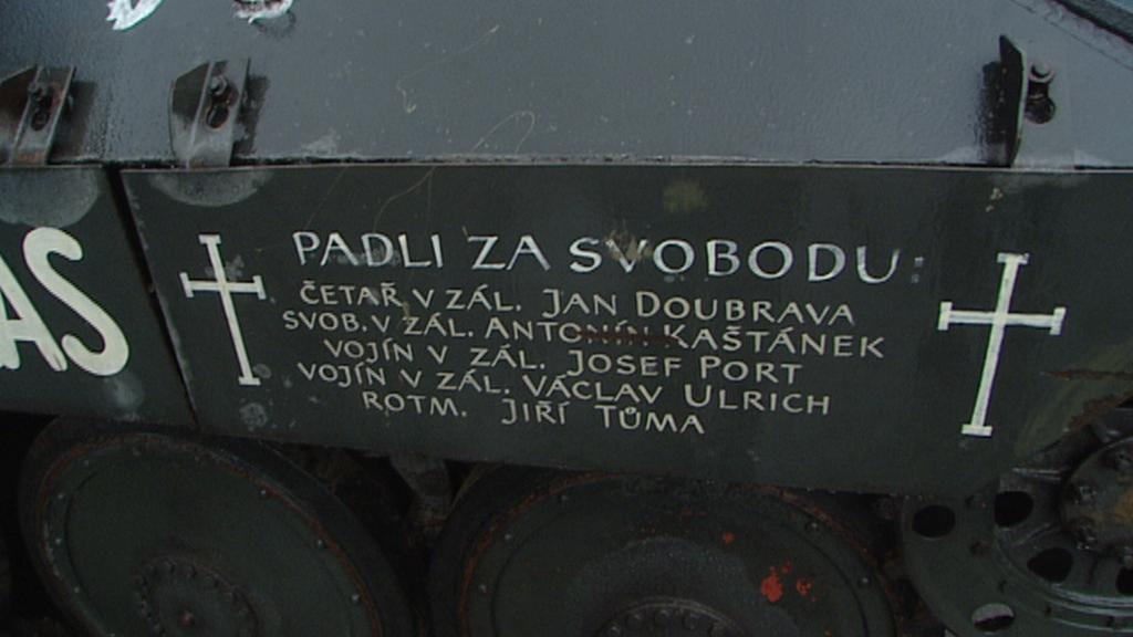 Jména padlých v boji o Československý rozhlas