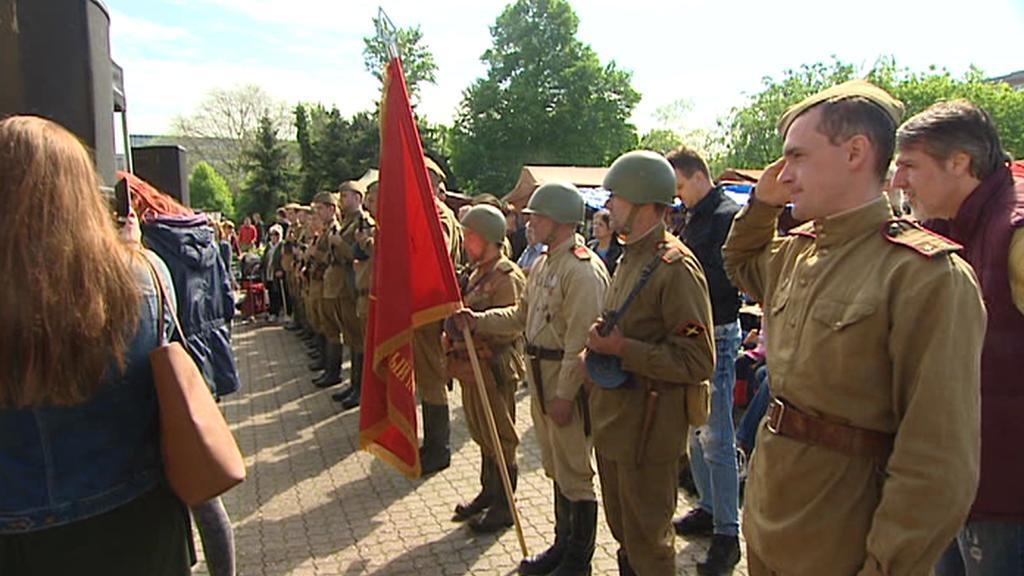 Oslavy konce války v Praze