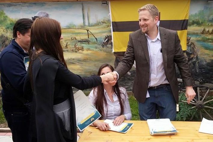Prezident samozvané republiky Liberland Vít Jedlička