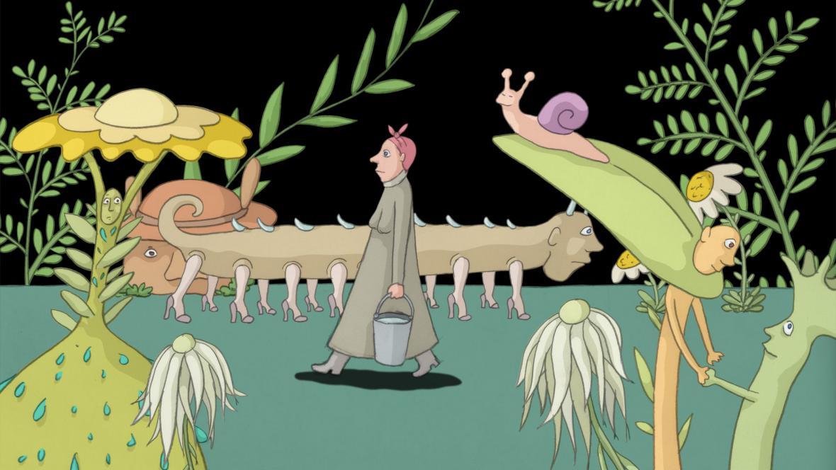 Šutry v kapsách, režie: Signe Baumane