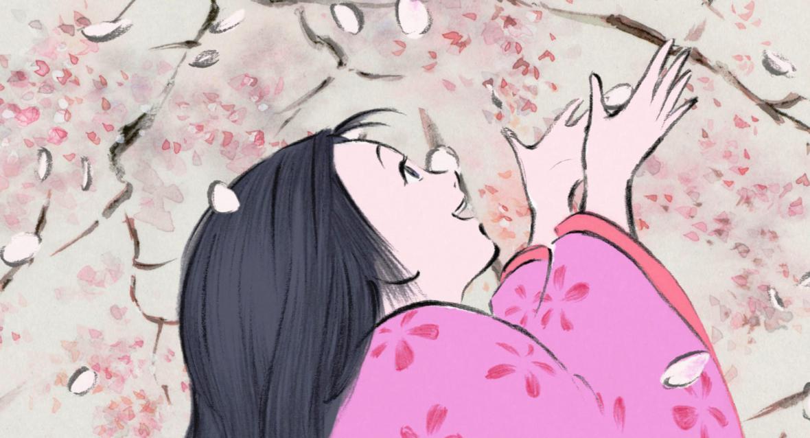 Příběh o princezně Kaguje, režie: Isao Takahata