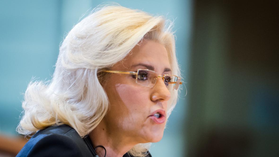 Eurokomisařka pro regionální politiku Corina Crețuová