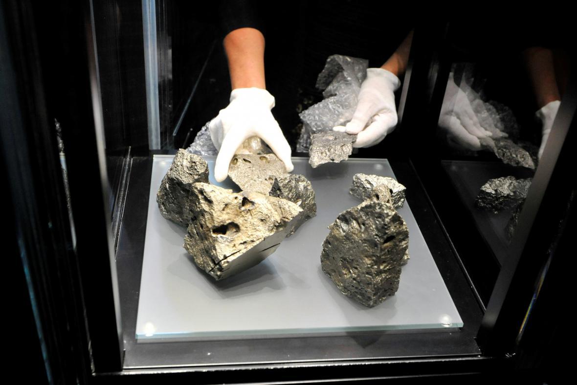 Železné meteority z Opavy-Kylešovic
