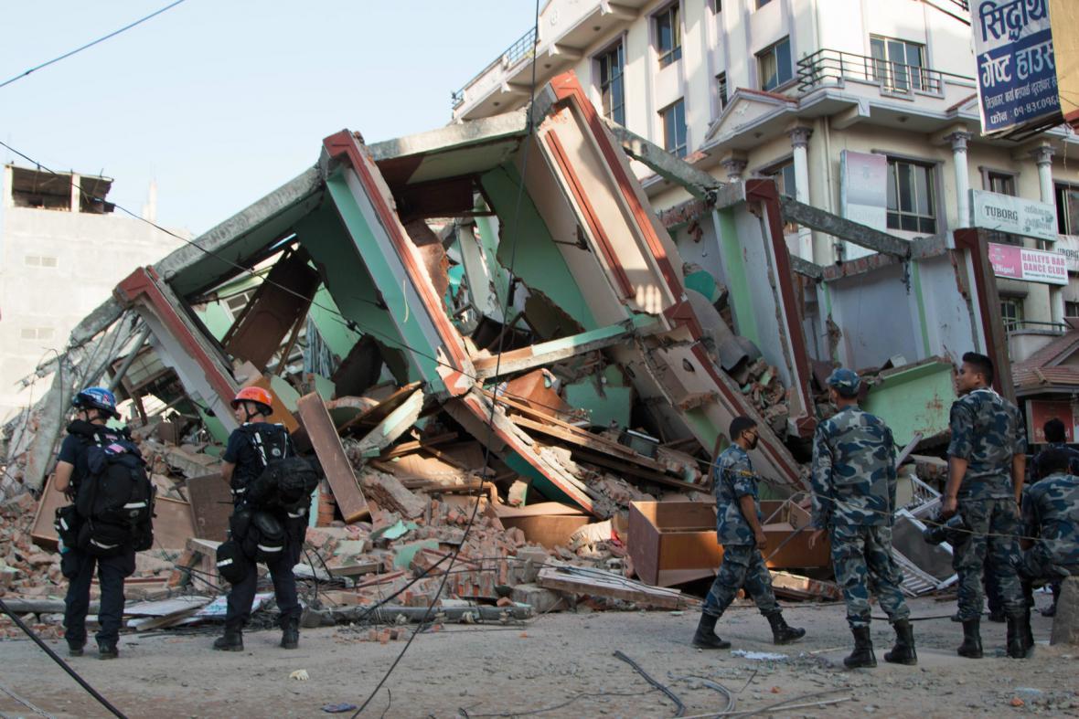 Nepál postihlo další zemětřesení