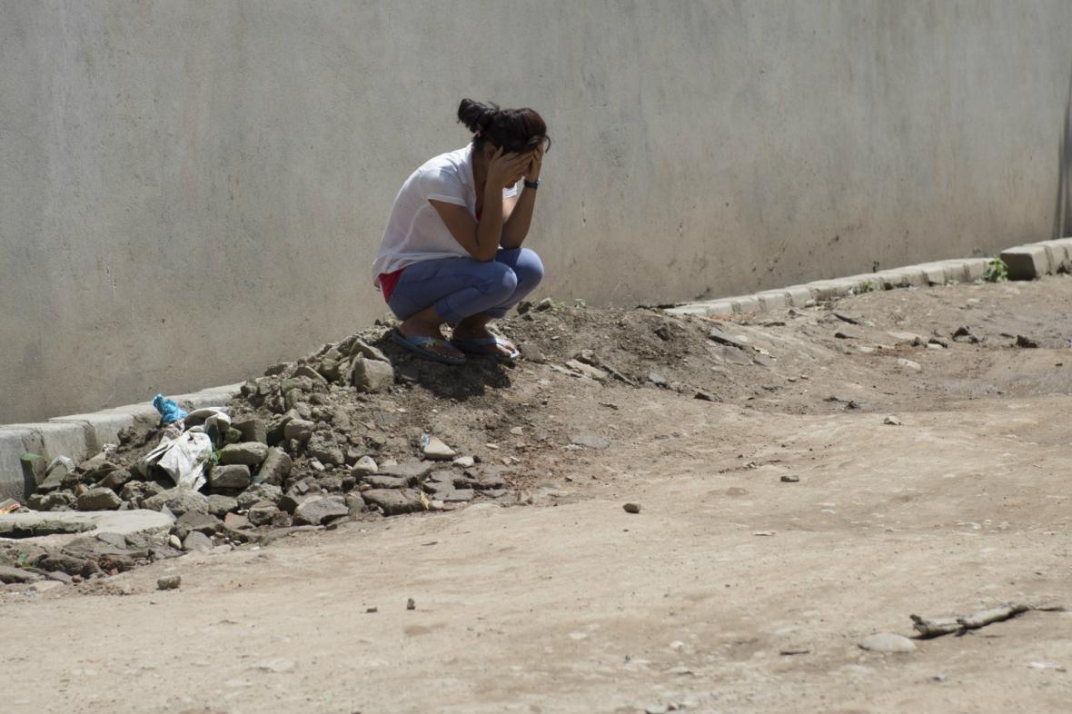 Nepál postihlo další mohutné zemětřesení