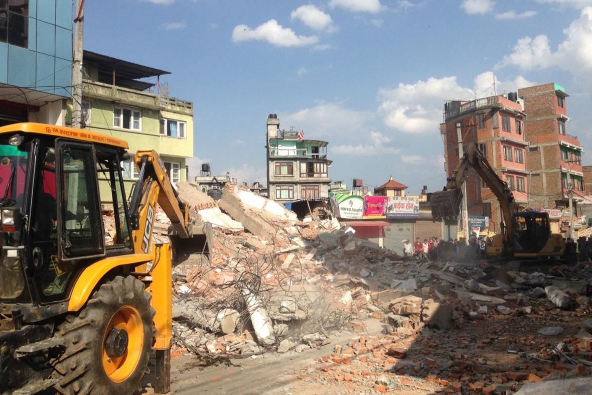 Nepál postihly další silné otřesy