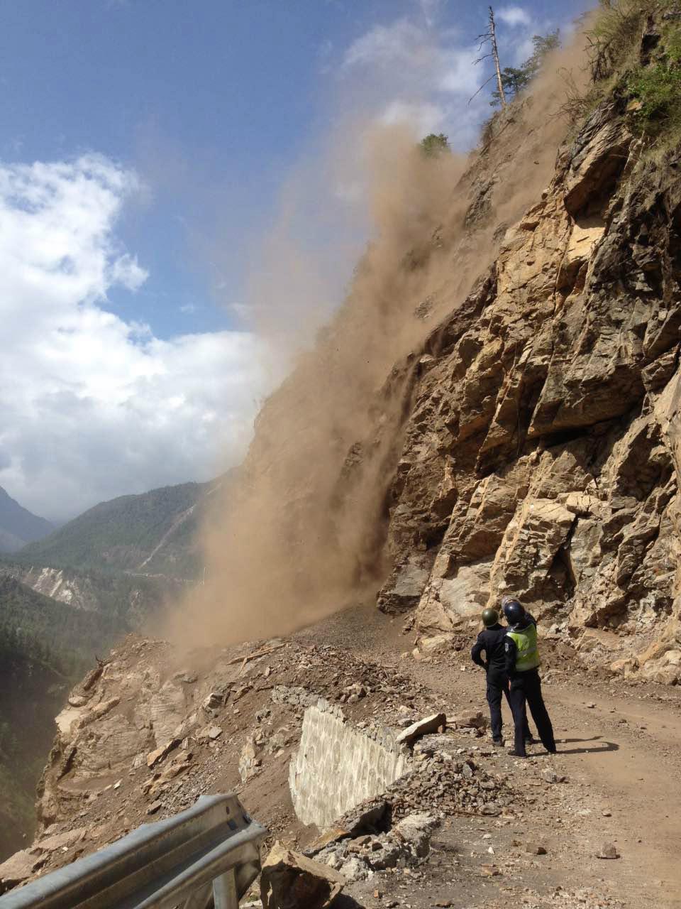 Otřesy byly zaznamenány i v Tibetu