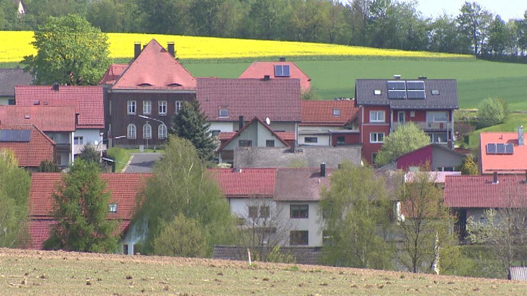 Bavorská obec Mähring