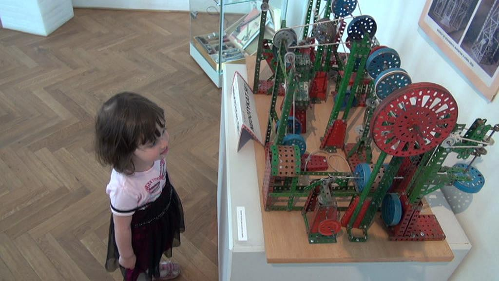 Expozice v muzeu v Ústí nad Labem