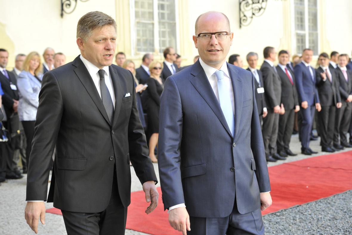 Společné zasedání české a slovenské vlády ve Valticích