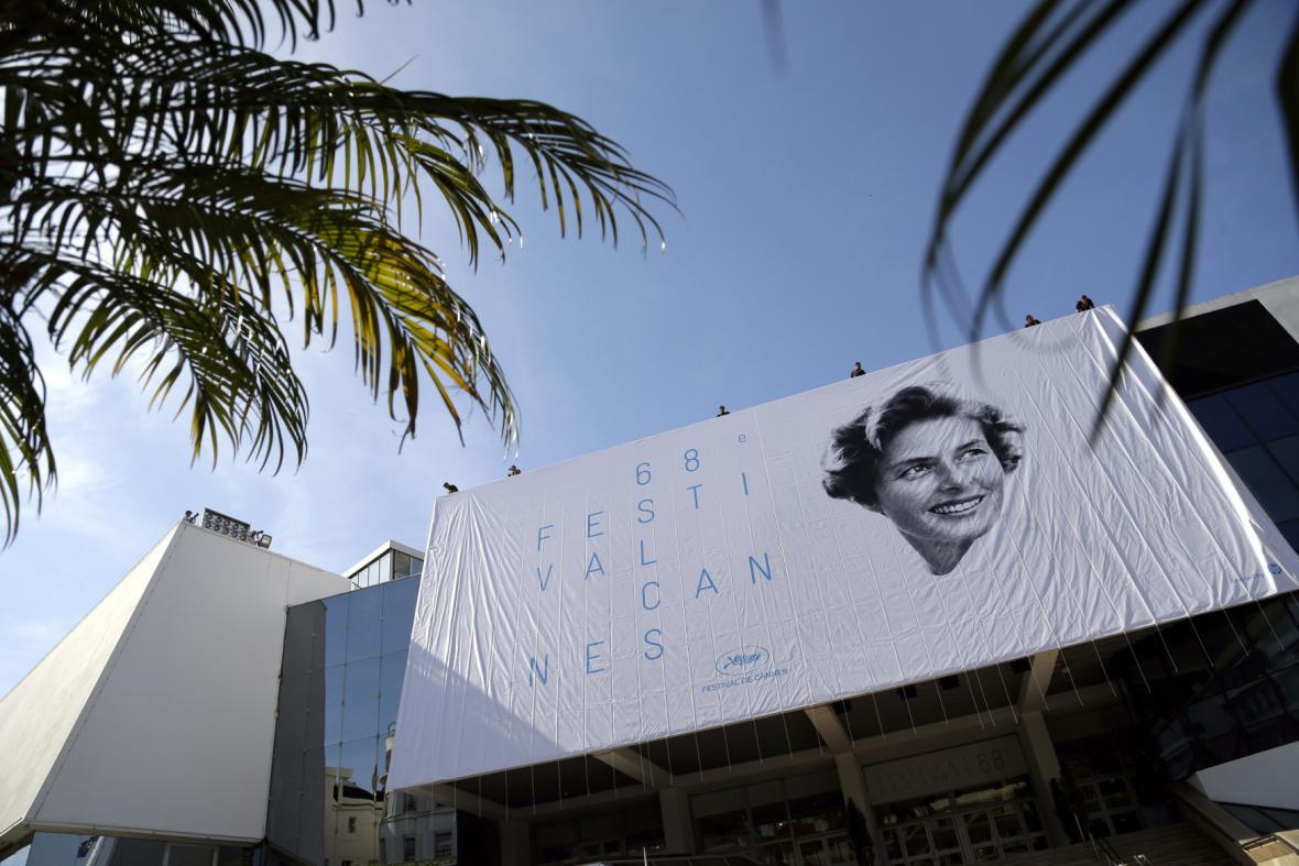 Ingrid Bergmanová - tvář 68. festivalu v Cannes