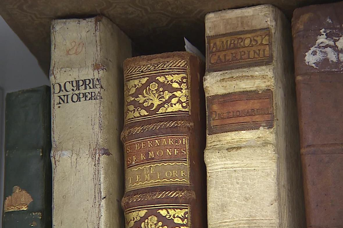 Nalezené knihy