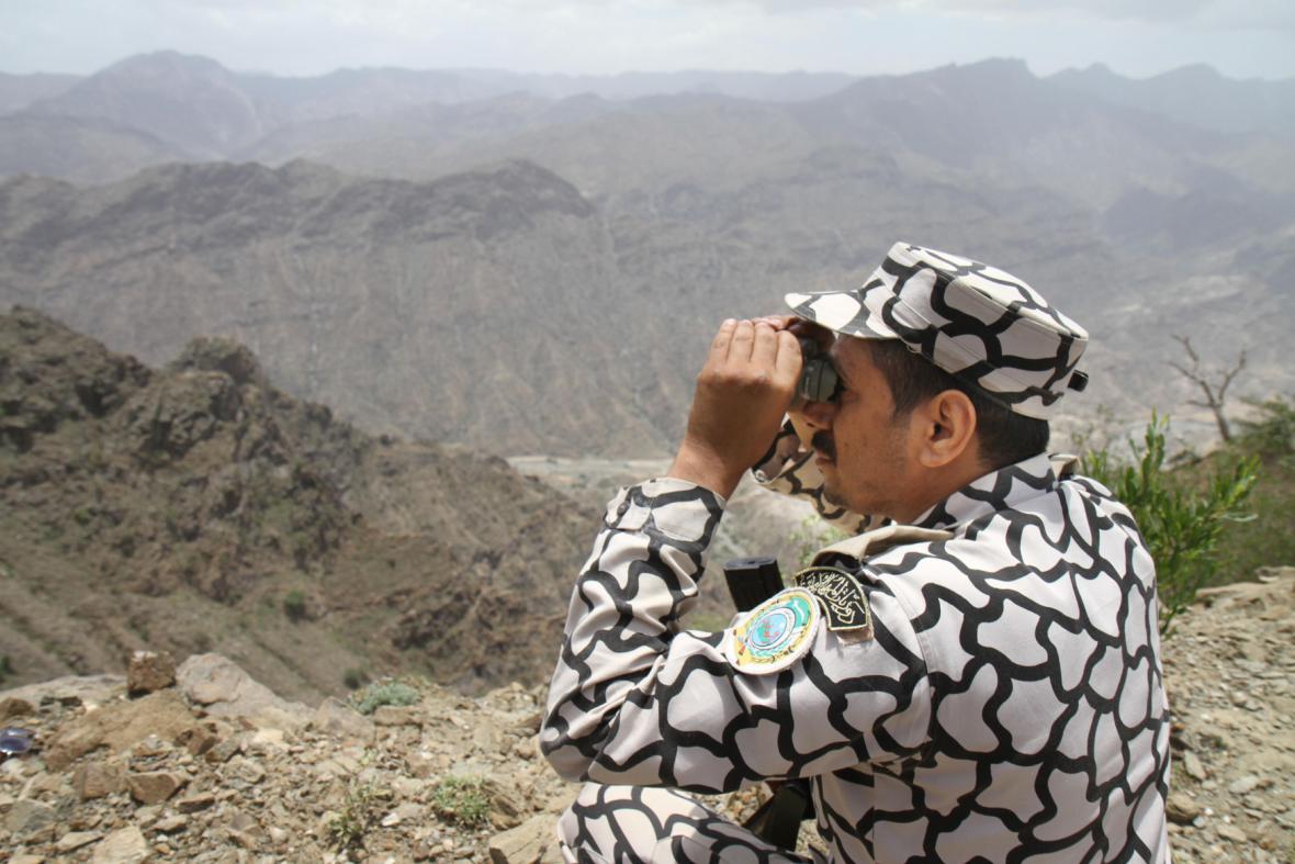 Saúdové střeží hranice s Jemenem